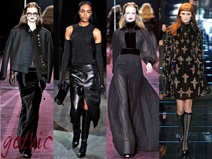 Gothic Fashion Trends Fall Winter 2012