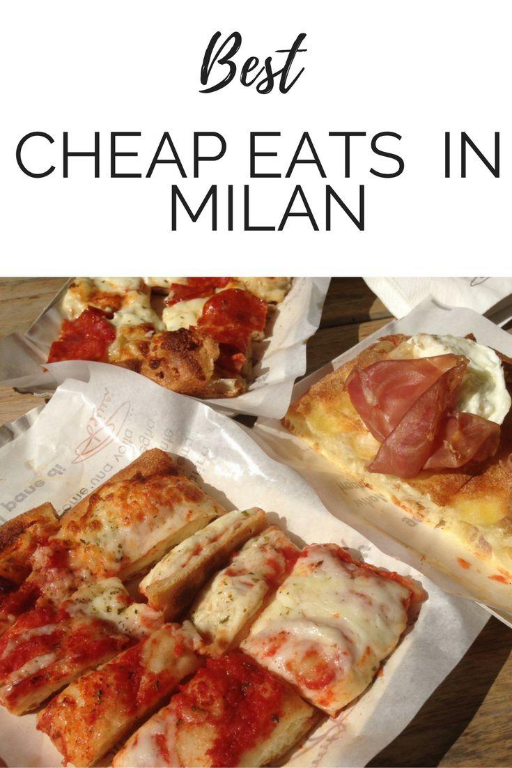 Best Cheap Eats In Milan - Food Tourist - www.foodtourist.co.uk