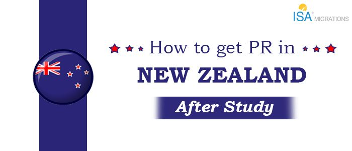 Apply for A Permanent Residence in New Zealand Post Studies Easily Via Us