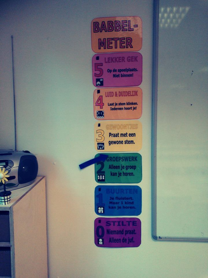 Babbelmeter voor in de klas!