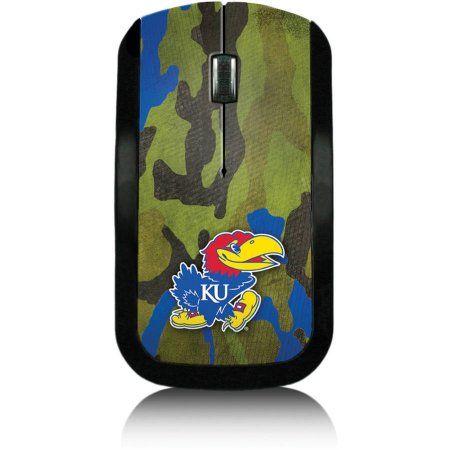 Kansas Jayhawks Wireless USB Mouse, Multicolor