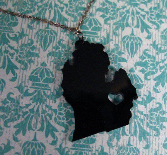 i heart Michigan acrylic necklace: Delightful Dyi, Shrink Dink, Heart Michigan, Acrylics Necklaces, Crafts Shrinki, Anne Arbors, Shrink Plastic, Michigan Acrylics, Shrinki Dink