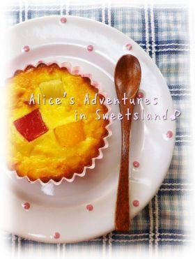 「トロピカルna * チーズケーキ♪」cherry♪   お菓子・パンのレシピや作り方【corecle*コレクル】