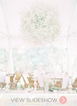 15 Ways to Use Baby's Breath Wedding Flowers I like the centerpieces ...