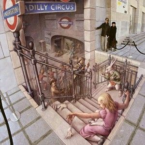 Piccadilly Circus - 3D Street Art
