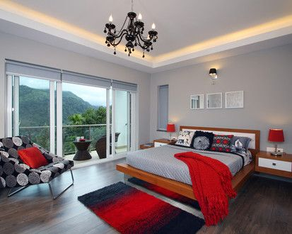 Master Suite Munnar Villa, Contemporary Bedroom