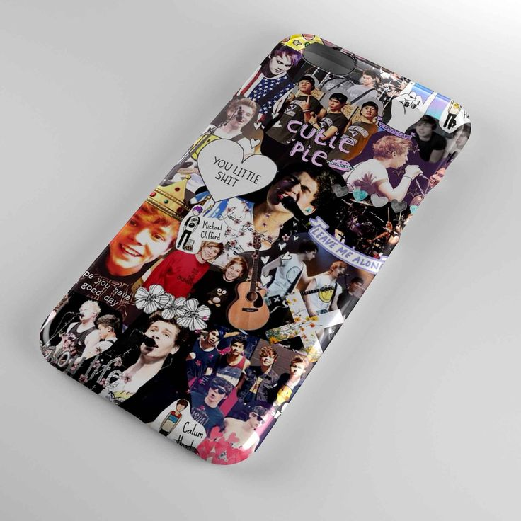 5 second summer collage cover for iphone and samsung galaxy case