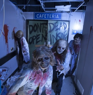 halloween attractions across the country more than a fright night actors portray zombies at an attraction based on the amc show the walking dead at - Halloween Actors 2017