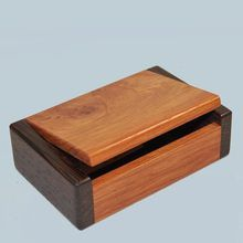 A fine little trinket box made from new Guinea Rosewood and Wenge. Handmade in Australia .