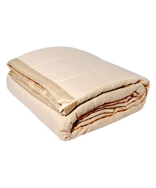 Ivory Microfiber Blanket