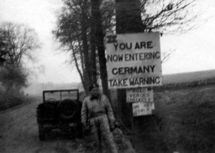 On 14 April 1945 the Division stood on the Dutch-German border for its final offensive of the war, reaching the River Ems near the German border on 18 April. By 19 April the division had completed its task of clearing north-east Holland and was advancing towards north-west Germany. Following the surrender of all German forces on 4 May 1945 in North-West Europe, with the ceasefire declared for 08.00 hours on 5 May,