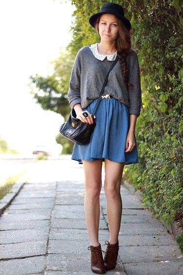 love the shoes!  Dots, dots (by Paulina Rutkowska) http://lookbook.nu/look/3780825-Dots-dotsIdeal Closets, Fashion, Clothing, Style D, Fall Winte Style, Dots Dots, Dots Bi