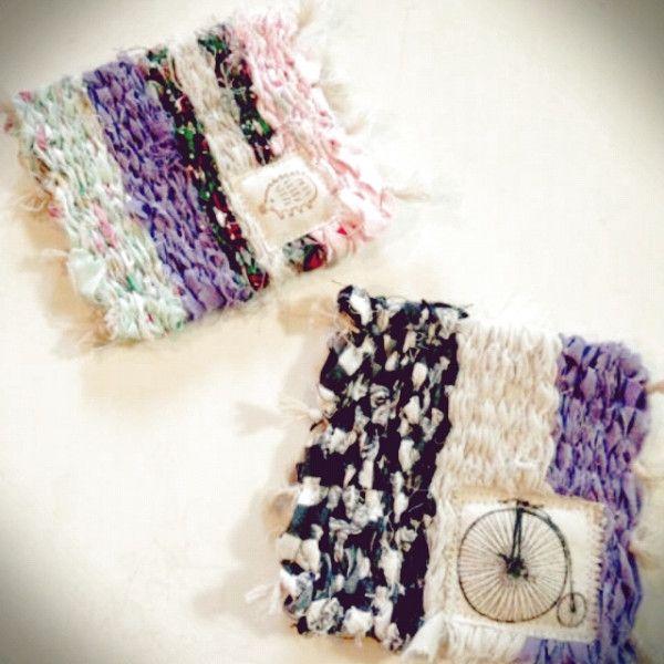 子供と作ろう♪段ボール編み機で*裂き織りコースター - 暮らしニスタ