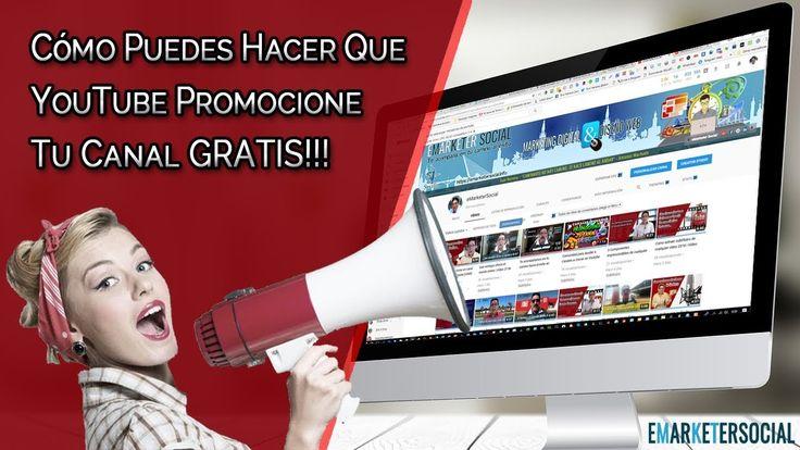 Cómo promocionar canal en YouTube GRATIS 2018 [EN FORMA DE TROFEO] |Víde...