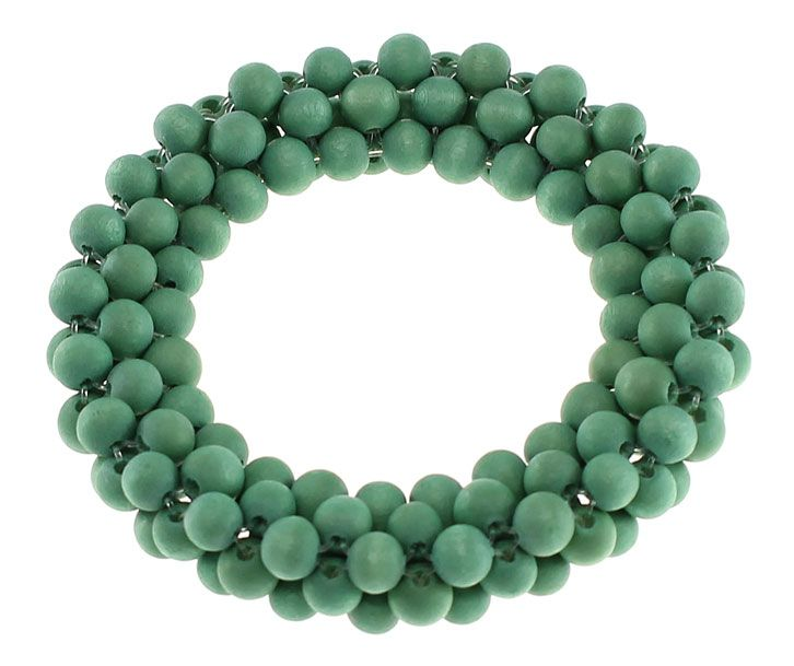 Lucy & Alice Jewellery, Summer 2014 collection, Green 'fig' bracelet. http://www.lucyandalice.com.au/