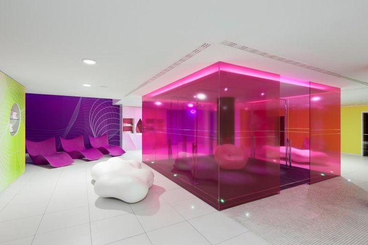 nhow Hotel by Sergei Tchoban & Karim Rashid, Berlin Germany hotel hotels and restaurants