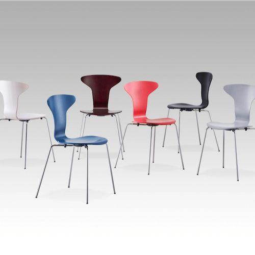 Munkegaard stolen, også kendt som Mosquito-stolen, er et stærkt og dristigt…