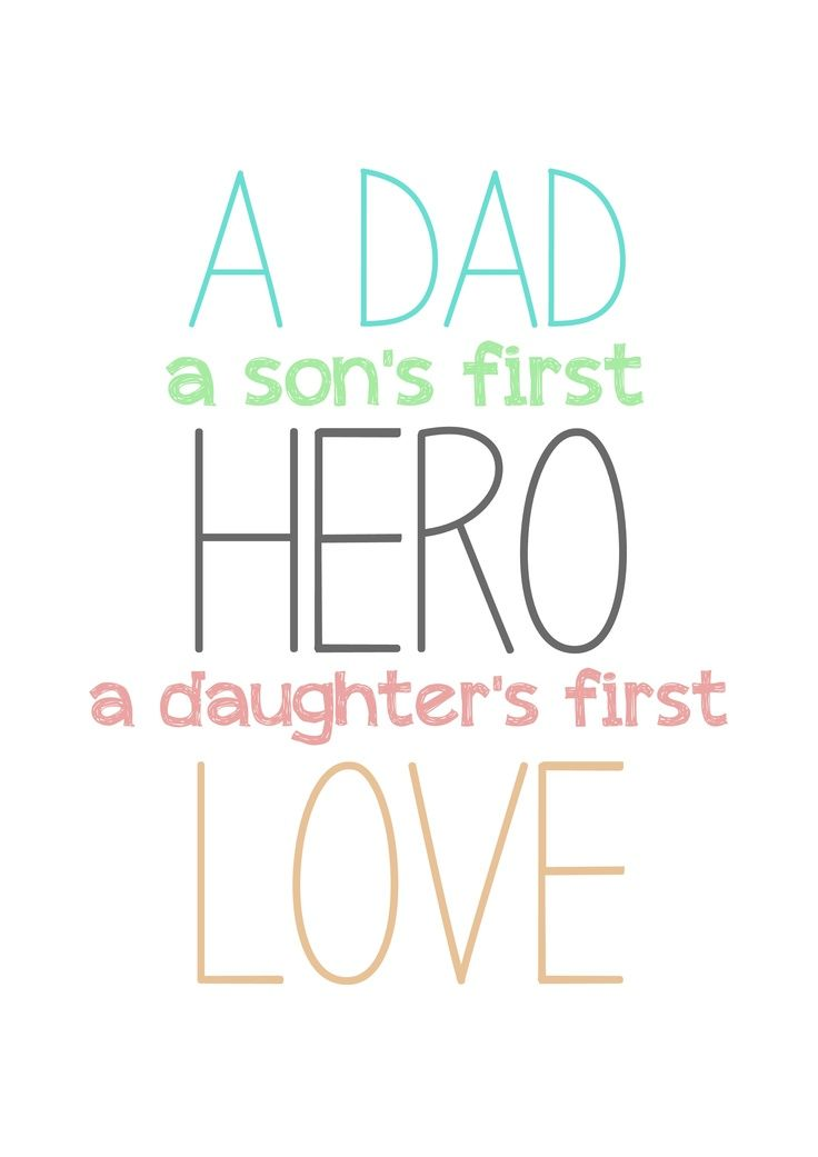 Lots of love to all the dads out there! -Father's Day weekend! Hope it's enjoyable :)
