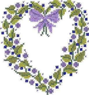 Points de croix *♥* cross stitch