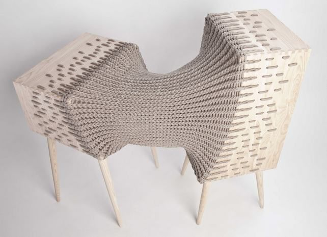 experimental hybrid storage furniture, designer Kata Monus. Design Hét Budapest 2012 - Élj lassabban!