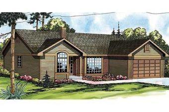 фото Проект каркасного дома в стиле кантри DA-72620-1-3