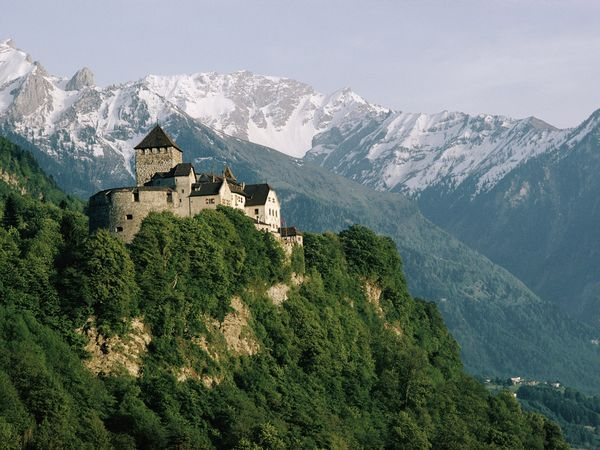 LIECHTENSTEIN just to say I've been. Usually it's not even on the map -- sometimes you'll see an L.