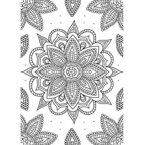 Pin Von Hilda J Andrews Auf Rock Outfit Muster Malvorlagen Mandalas Zum Ausmalen Punktmalerei