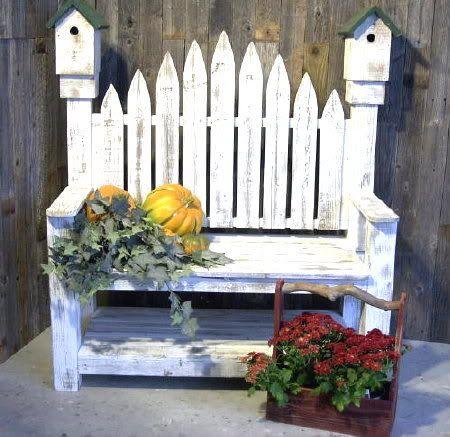 Free Images Of Birdhouse Benches Birdhouse Garden Bench 400 x 300