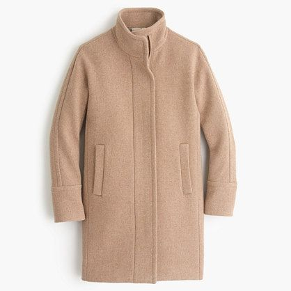 J.Crew Camel Stadium Coat
