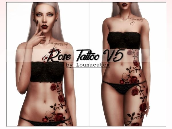 245 best Sims 4 - Tattoos images on Pinterest