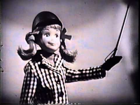 Vintage Barbie TV commercial from the early 1960's. It also is promoting the Barbie Fan Club. For more information on vintage toys, and other iconic advertising memorabilia, go to http://www.tvtoymemories.com