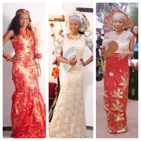 Nigerian Wedding Igbo Brides Traditional Styles