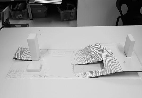 Helsinki Library - Model GIF