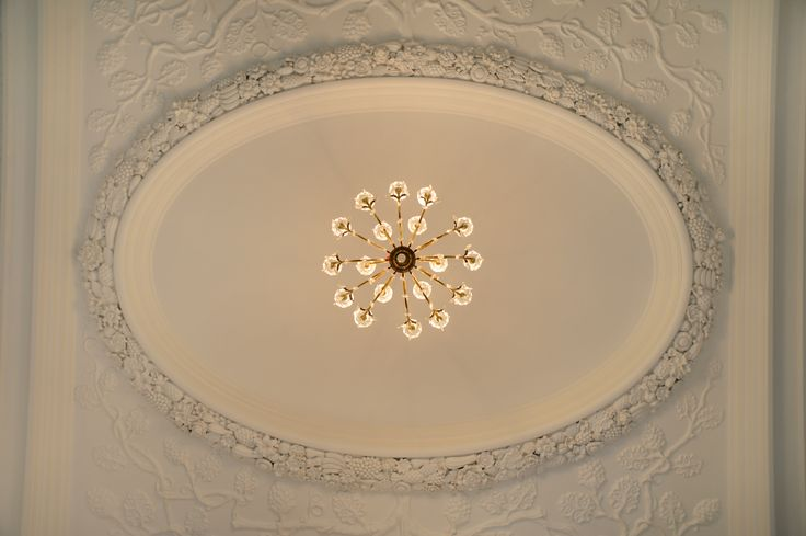 Amazing ceiling in our ballroom