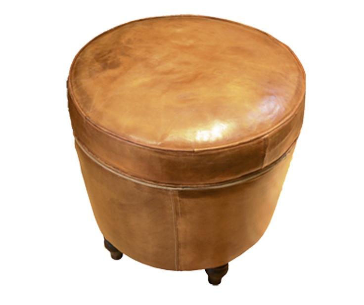 bar stool u0026 chair. Leather ottoman. 520mm(R) x 500mm(H  sc 1 st  Pinterest & 9 best bar stool u0026 chair images on Pinterest | Stool chair Bar ... islam-shia.org