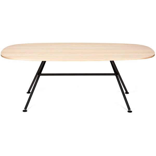 Objekten oval table 3 395 aud liked on polyvore - Tisch oval weiay ...