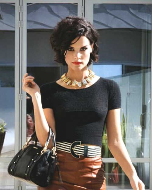 Short Haircuts For N American Curly Hair : Best 25 thick wavy haircuts ideas on pinterest bobs for thick