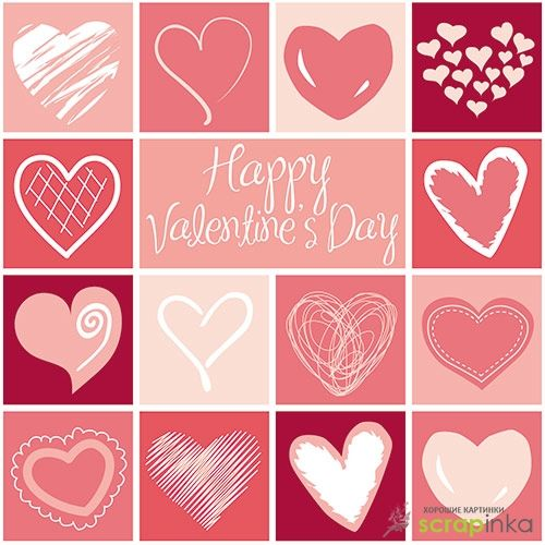 Яркие розовые фоны и картинки к 14 февраля | Скрапинка - дополнительные материалы для распечатки для скрапбукинга