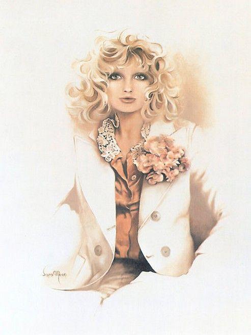 Sara Moon - Iranian Fashion painter
