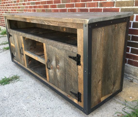 Best 25+ Rustic Entertainment Centers Ideas On Pinterest