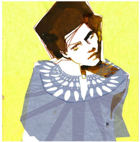 Stina persson, fashion illustration
