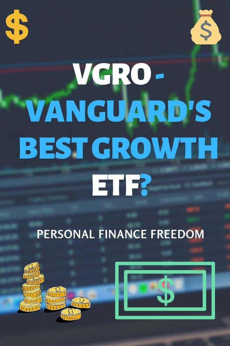 Vgro Review Vanguard S Best Growth Etf In 2020 With Images