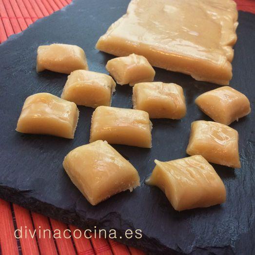 Caramelos de toffee » Divina CocinaRecetas fáciles, cocina andaluza y del mundo. » Divina Cocina
