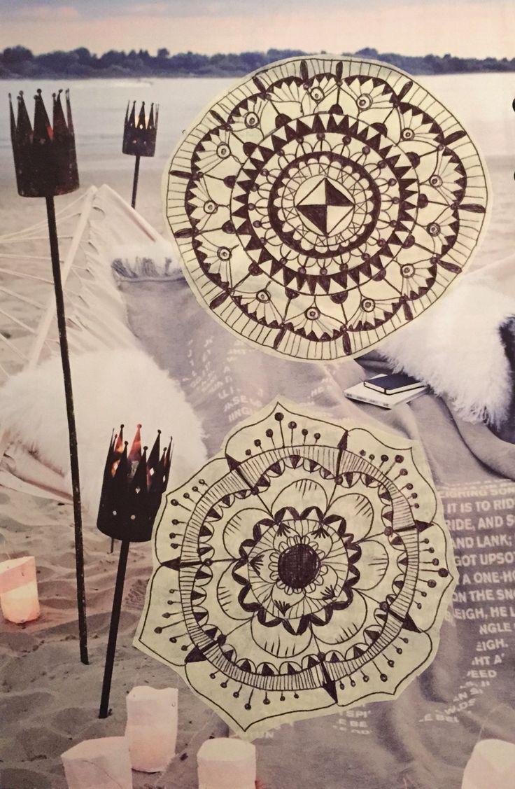 #collage #mandala monica gnosca