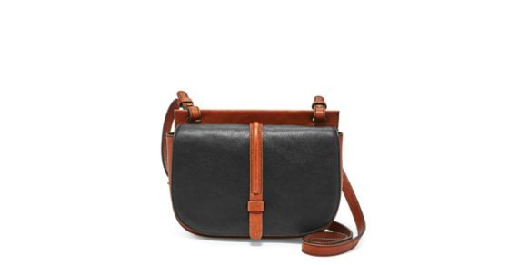 A leather bag that's ahead of the curve—we're loving Collette's signature round front flap, conveniently placed back pocket and standout hardware.Designed exclusively for Fossil Outlet.*Will be shipped separately from other products