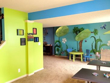 home daycare decorating ideas for basement | Eco-Healthy and Organic In-Home Childcare Space