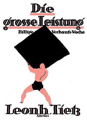 Adolf Uzarski, Die grosse Leistung (Leonhard Tietz AG), c. 1915