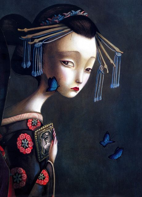 Benjamin Lacombe from Il était une fois... a delicious pop up book - no words just glorious illustrated pop up pages!