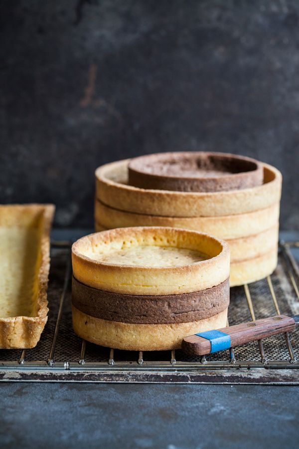 Homemade tart shells. Flaky, buttery and delicious - nothing beats that!