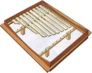 Японская кровать своими руками